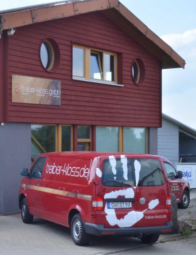 Schreinerei Treiber-Kloss Firmengebäude Außenansicht