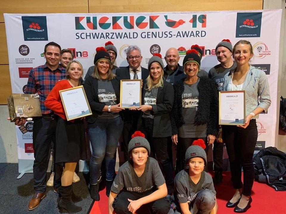 Siegerehrung Kuckuck Award